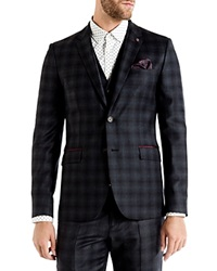 Ted Baker Yonkers Checked Slim Fit Sport Coat
