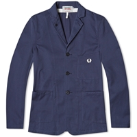 Fred Perry X Nigel Cabourn Sports Blazer Inky Blue