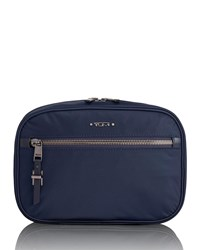 b043d4274bd4 Tumi Yima Cosmetics Travel Bag Navy