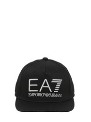 Emporio Armani Train Visibility Cotton Baseball Cap