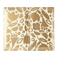 Kate Spade Desktop Weekly Calendar And Folio Golden Floral