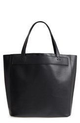 Bp. Stitched Faux Leather Tote Black