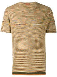 Missoni All Over Print T Shirt Green