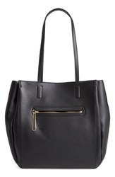 Danielle Nicole Theo Faux Leather Tote Black