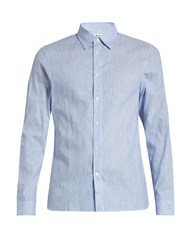 Acne Studios Glasgow Pop Cotton Poplin Shirt Light Blue
