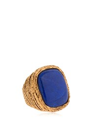 Aurelie Bidermann Miki Ring Gold Blue