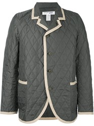 Comme Des Garcons Shirt Boy Quilted Jacket Green