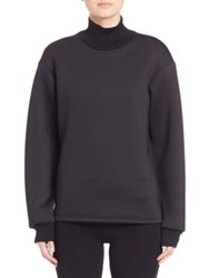 Y 3 Zippered Waist Sweatshirt Black