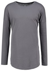 Your Turn Long Sleeved Top Dark Gray Dark Grey