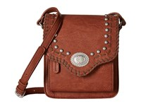 American West Los Alamos Crossbody Flap Bag Clay Cross Body Handbags Tan