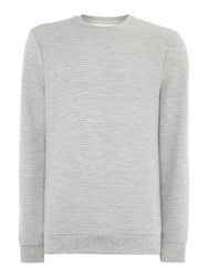 Linea Robinson Rib Sweat Grey