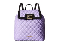 Love Moschino Superquilted Fold Over Purple