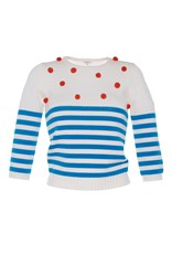 Manoush Pom Pom Pullover Stripe