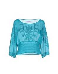 Clips More Shirts Blouses Women Deep Jade