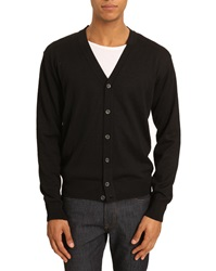 Menlook Label Oliver Black Cardigan