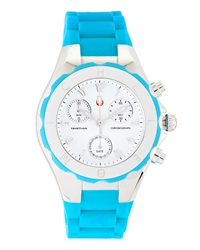 Michele Tahitian Jelly Bean Watch Turquoise