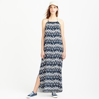 J.Crew Halter Beach Dress In Ikat