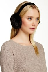 Dena Faux Fur Earmuff Black