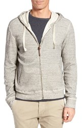 Billy Reid Men's Thermal Zip Hoodie