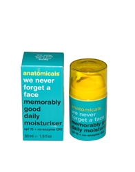 Anatomicals We Never Forget A Face Memorably Good Daily Mosituriser Spf 15 50Ml Memorablygoodmoist