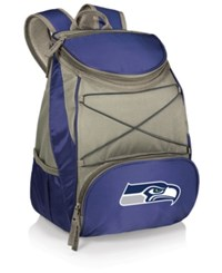 Picnic Time Seattle Seahawks Ptx Backpack Cooler Blue Gray