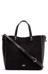 Frances Valentine Large Margaret Corduroy And Leather Tote