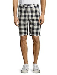 Publish Garvan Windowpane Shorts Navy