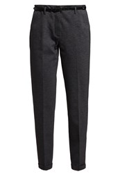 More And More Trousers Dark Steel Anthracite