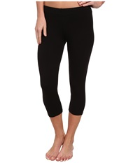Candc California 3 4 Length Legging Black Women's Casual Pants
