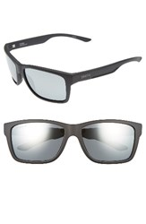 Smith Optics Men's 'Drake' 61Mm Polarized Sunglasses Matte Black