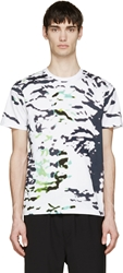 Tim Coppens Black Abstract Print T Shirt