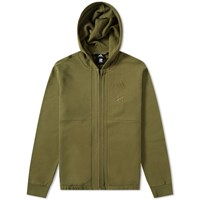Adidas Consortium X Undefeated Full Zip Logo Hoody Green