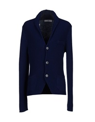 Officina 36 Cardigans Dark Blue