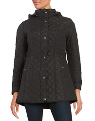 Weatherproof Plus Quilted Coat Black