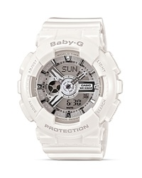 Baby G Analog Digital Watch 46.3Mm White