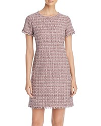 Max Mara Weekend Etruria Tweed Shift Dress Pink