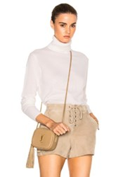 Equipment Oscar Turtleneck Sweater In White