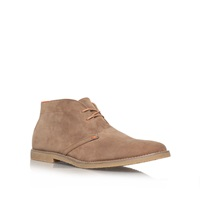 Kurt Geiger Bedford Synthetic Boots Chelsea Brown