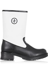Lacroix Montreal Fleece Lined Leather Boots White