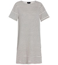 A.P.C. Cotton Blend T Shirt Dress White