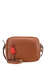 J.Crew Across Body Bag Roasted Chestnut Cognac
