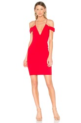 Jay Godfrey Hoy Dress Red