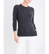 Madeleine Thompson Mei Mei Knitted Cashmere Jumper Charcoal