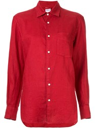 Aspesi Classic Plain Shirt Red