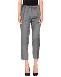 Gold Case Trousers Casual Trousers Women Grey