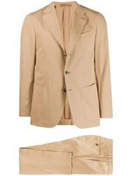 Caruso Two Piece Formal Suit Neutrals