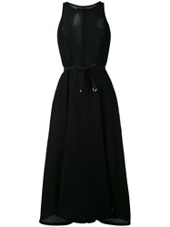 Christophe Lemaire Tie Waist Dress Women Cotton M Black