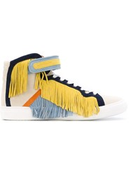Pierre Hardy 'Rodeorama' Hi Top Sneakers Multicolour