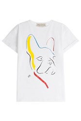 Etre Cecile Dog T Shirt White