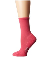 Thorlos Experia Dress Crew Single Pair Rose Women's Crew Cut Socks Shoes Pink